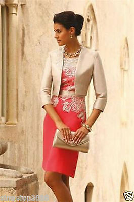 Mother of the Bride suit outfit Wedding Mother Dress Jacket Free Tea Length 2017