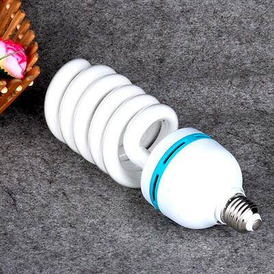 1X 135W 5500K Daylight Spiral Light Bulbs Energy Saving Fluorescent Lamp E27 CFL