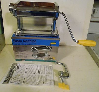 Amaco Pasta Machine for polymer clay crafts and metal sheet pressing