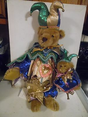 """RARE limited edition 18"""" Gorham Musical Calliope Beverly Port  Teddy Bear in box"""