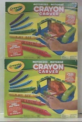 NEW 2 Pack of Crayola Crayon 04-4133 Carvers $39.90