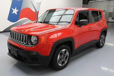 2016 Jeep Renegade  2016 JEEP RENEGADE SPORT AUTO BLUETOOTH REAR CAM 7K MI #C69914 Texas Direct Auto
