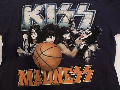 2012 KIZZ KISS MADNESS I WAS THERE Rock T shirt size L Anvil New Orleans LA
