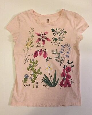 Tea Light Pink Floral Short Sleeve T-Shirt Size XL (12)