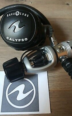 Scuba Regulator Aqualung Calypso 1St And 2Nd Stage Primo!