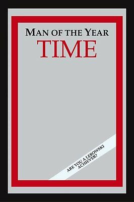 The Big Lebowski - Time: Man Of The Year Deluxe Bar Mirror, 9inch x 12inch