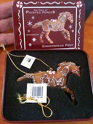 Gingerbread Pony Christmas Tree Ornament from Trail of the Painted Ponies