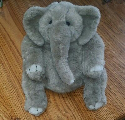 "DAKIN LOU RANKIN HOOVER THE ELEPHANT 12""-INCH PLUSH DOLL by APPLAUSE"