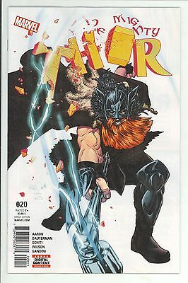 Mighty Thor #20 - Russell Dauterman Art & Cover - Marvel Comics/2017