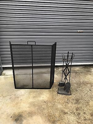 Fireplace Grill And Accessories