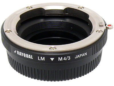Kindai(Rayqual) Mount Adapter For M4/3 Micro Four Thirds Body to Leica M Lens