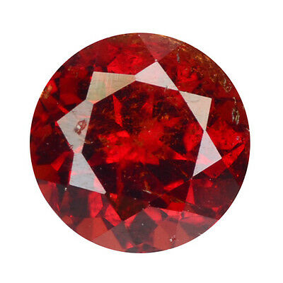 1.90 ct TOP SPARKLING 100% NATURAL ORANGY YELLOW SPESSARTINE GARNET GEMSTONES