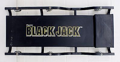 "Torin BLACK JACK 6-Wheel 36"" Padded CREEPER"