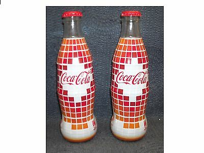 Coca Cola 2 Full Glass Bottles  Pafos 2017  European  Capital Of Culture