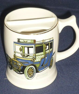 LORD NELSON WARE Pottery Moustache Mug (Panhard Levassor 1908) Height 4""