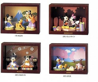 Kato Kogei Disney Monthly Figure Mickey Minnie Goofy Pluto Donald Japan FS #10