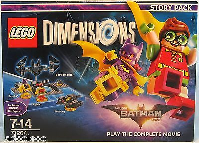 Lego Dimensions Set 71264 Batman Movie Story Pack - New Sealed