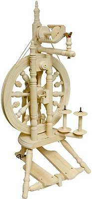 Kromski Minstrel Unfinished Spinning Wheel Special  Bonus  FREE Shipping
