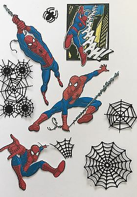 Disney Themed Marvel Spider Man Die Cuts - With Extras