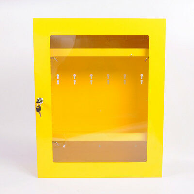 ASG Portable Industrial Security Safety Lockout/Tagout Device Cabinet Yellow