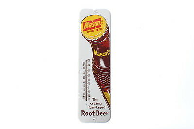 Vintage Mason's Root Beer Advertising Thermometer