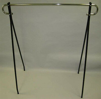 "Black Beauty Commercial Quality Clothes Hanger Retail Display Rack 60""Wx63""H NEW"