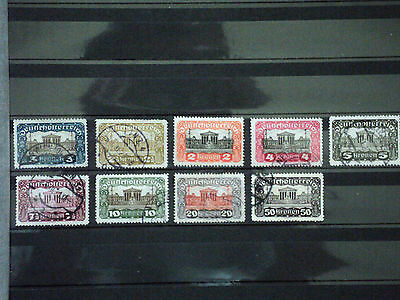 Austria Stamps good selection