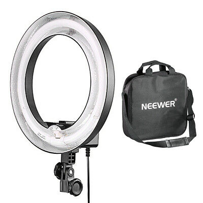 """Neewer 400W 5500K Video Dimmable Ring Fluorescent Flash Light 14""""Outer 10""""Inner"""