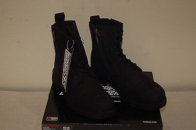 Speed and Strength Bikes Are In My Blood Riding boots Black Size 10 men's