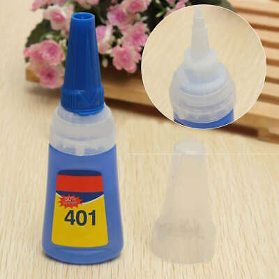 New 401 Instant Fast Adhesive 20g Bottle Stronger Super Glue Multi-Purpose