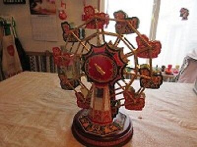 "Very Rare Franklin Mint Coca Cola Ferris Wheel ""i'm Sitting On Top Of The World"""