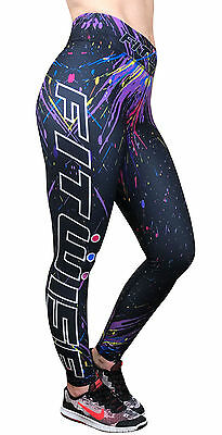 New Womens Compression Leggings Base Layer Long Pants Skinny Fit Gym Yoga Sports