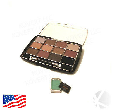 New eye shadow makeup compact diversion safe secret hidden micro SD TF card WARM
