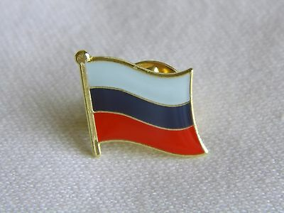 Russia Russian Flag Country Metal Lapel Pin Badge