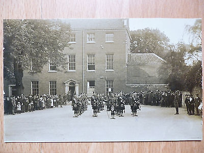 1916 Ww1 Military Postcard Cathedral Close Norwich Norfolk