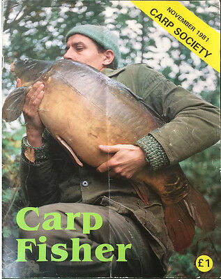 Carp Fisher 1st edition, EXTREMELY RARE, very good condition.