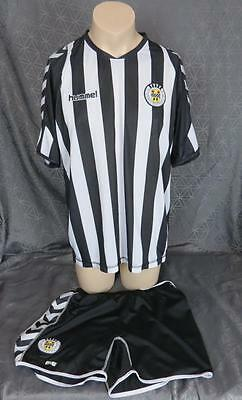 St Mirren 2010-11 home kit shirt XL soccer jersey camiseta and shorts L #18