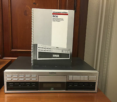 ReVox B 126 Compact Disc Player, IR Remote System with orig. manual