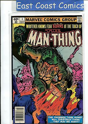 Man-Thing Vol: 2 #3 - Very Fine  - Marvel