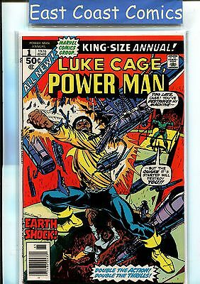 Luke Cage Power Man King-Size Annual #1 Near Mint - Marvel