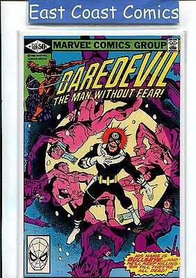 Daredevil #169- Elektra/bulleseye - Miller Art -  Near Mint - Marvel
