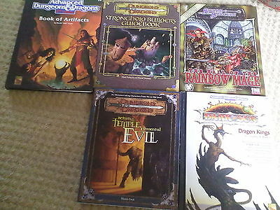Dungeons and Dragons books set