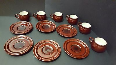 Rare Vintage Noritake Folkstone 12 pc set cups and saucers