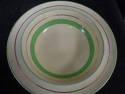 Art Deco Clarice Cliff - Reg No 840076  Liberty ? Cereal/dessert Bowl   (Tr)