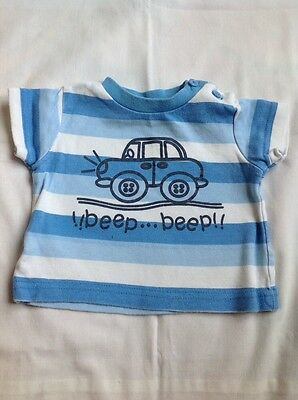 Baby Boys T-Shirt 0-3 months M&Co Top tshirt clothes
