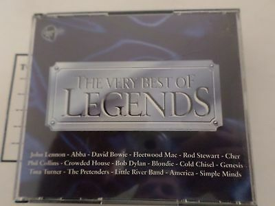 The Very Best Of Legends [3 Cd Box Set] Various Artists
