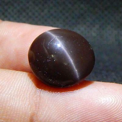 8.3 cts Natural Nice Unique Scapolite Cat's Eye Cab Gemstones {Video} L#80-41