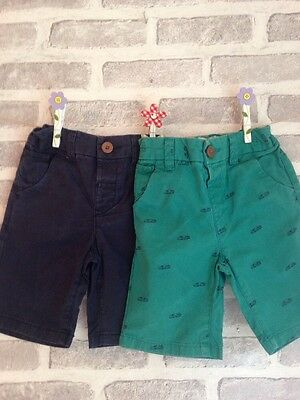 Boy's Shorts Age 18-24 Months X2 Next