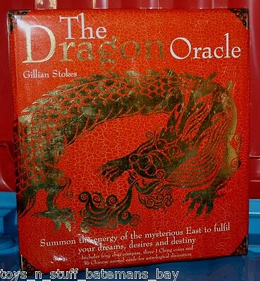 THE DRAGON ORACLE by GILLIAN STOKES - NEW