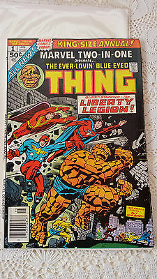 1976 Marvel Two-In-One King-Size Annual #1 The Thing